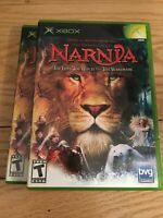 THE CHRONICLES OF NARNIA - XBOX - COMPLETE WITH MANUAL - FREE S/H - (Y)