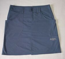 Women's Cabela's UPF 30 Gray Blue Sporty Skirt Size 14 (PLEASE SEE DESCRIPTION)