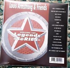 LEGENDS KARAOKE CDG LOUIS ARMSTRONG & FRIENDS OLDIES JAZZ #109 16 SONGS CD+G