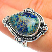 Azurite 925 Sterling Silver Ring Size 8.25 Ana Co Jewelry R47291F