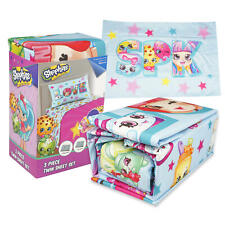 New Shopkins Better Together bedding 5 piece Sheet Set Girls Bedroom Bedding