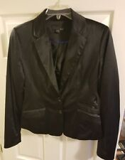 forever 21 silk-like blazer. womans size medium. fully lined. GORGEOUS