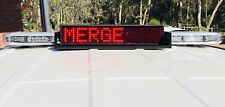 NEW MADE IN CANADA D&R ROAD ALERT RA-R-20U LED MESSAGE DISPLAY BOARDS ARROW