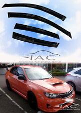 For Subaru Impreza SD/HB WRX 08-14 Window Visor Vent Sun Shade Guard Door Visor