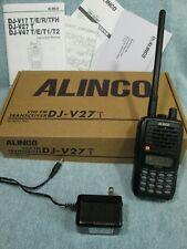 🔥 220 MHz HAM RADIO ALINCO DJ-V27T HT 220 VHF TRANSCEIVER DJ-V27 *NEEDS BATTERY