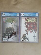 New Avengers #11 9.4 CGC and New Avengers #27. CGC 9.6 Key issues