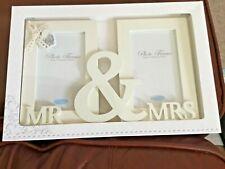 Carte Blanche tatty teddy .  Mr and Mrs Photo Frame wedding