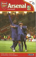Football Programme - Arsenal v Portsmouth - Premiership - 5/3/2005