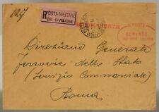 POSTA MILITARE 28^ DIVISIONE 10.1.1916 RACC. TIMBRO 140° REGG. FANTERIA #XP277O
