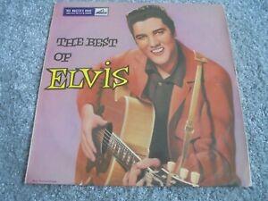 """Elvis Presley - The Best Of Elvis 1957 UK 10"""" LP HMV 1st"""