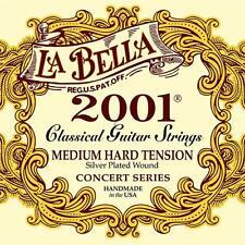 La bella 2001 Medium Hard tensión clásica serie de conciertos guitar string
