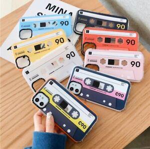 Retro Cassette Tape Instagram iPhone case 11 Pro Max XR XS SE2 8 7 Impact Clear