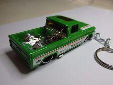 Hot Wheels '62 Chevy Custom Pick Up Key Fob Keychain Keyring