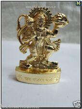 "Lord Haumanji 2.75"" Statue Auspicious Hindu Religious Brass Altar Murti Luck New"