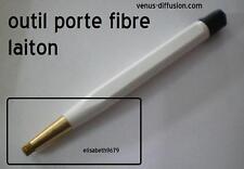 crayon en fibre de laiton pour brosser gratter  horloger maquettiste modellisme