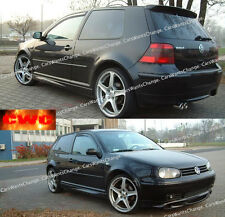 VW GOLF 4 IV CORPO KIT: FRONT Valance, Posteriore Valance, SIDE SKIRTS