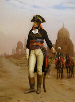 """oil painting handpainted on canvas """"Napoleon in Egypt  """"@N13767"""