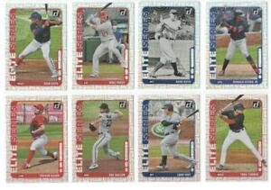 2021 Donruss Baseball ELITE SERIES VECTOR Prizm Insert Set Trout Acuna Soto Ruth