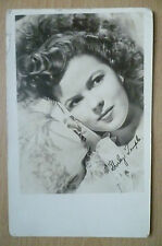 Fan Club Photo Postcard- SHIRLY TEMPLE with Autograph