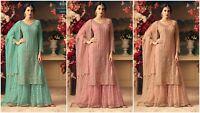 Salwar Kameez Indian Pakistani Suit ethnic Anarkali Dress Designer Party Wear KB