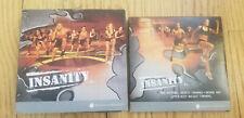 Beachbody Insanity 10 DVD Workout Box Set Dig Deeper Training Abs Upper Body LOT