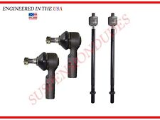 4PC Inner/Outer Tie Rod Ends for Toyota Avalon Camry Sienna Solara Lexus ES300
