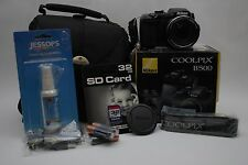 Nikon COOLPIX B500 16.0MP Digital Camera - Black  (Latest Model)  KIT