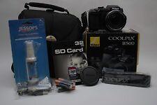 Nikon COOLPIX B500 16.0MP Digital Camera - Black  (Latest Model)  KIT