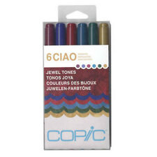 Copic Ciao Marker 6 Color Set Jewel Tones