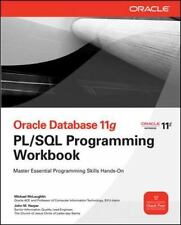 Oracle Database 11g PL/SQL Programming Workbook [Oracle Press] , McLaughlin, Mic