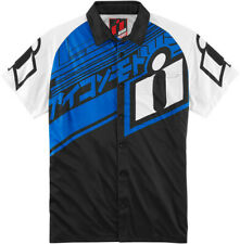 Icon Racing 2016 ADULT Hypersport Shop Pit Shirt Blue Polo Tee XL 3040-2068