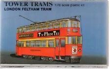 TOWER TRAMS 1/76 London Transport Feltham type Model Tram Kit