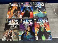 Star Wars Dark Empire- Dark Horse Comic Lot 1-6- F/VF