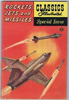 Classics Illustrated special Issue 159A 1960 Rockets Jets and Missiles