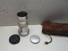 Vintage Zeiss-Opton Sonnar Lens 1:4 135mm Photography Germany w/ Case