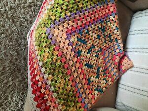 Crochet blanket throw💗