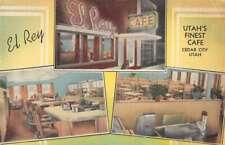 Cedar City Utah multi-views El Ray Cafe linen antique pc ZD549977