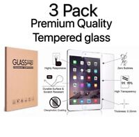 3 Pack Tempered Glass Screen Protector For iPad 10.2 inch 2019 7th Generation