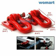 RC 1/10 Tow Shackle Bracket For RC 4WD Axial Crawler Truck Truggy Accessory Part