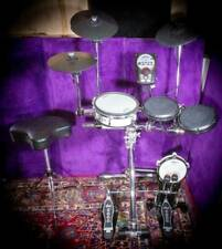 Roland TD-11 V-Drum Kit w/ Mesh Pads - Gibraltar E-Rack, Throne, DW Double Bass