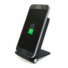 Wireless Charging Desk Dock Cradle Stand 3 Coil for Qi Device S6 S7 S8 G4 Note 8
