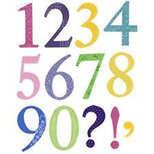 Sizzix Bigz Die Set-atrevido serif números: 656617