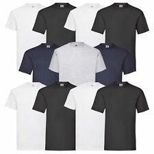 3er 5er oder 10 Pack Fruit of the Loom Heavy Cotton T schwere T-Shirt Qualität