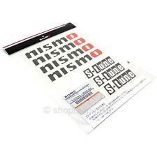 Nismo S-Tune S Tune Sticker Decal Sheet Black 99992-RN242 Authentic Genuine