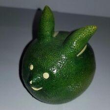 "Enesco Ceramic ""Home Grown Collection"" Lime Rabbit #4006808"