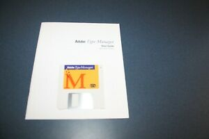 Adobe Type Manager for Apple Macintosh System 6, Disk and user guide