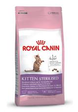 CROCCANTINI PER GATTO ROYAL CANIN 400 gr KITTEN STERILIZED PER GATTINI 6/12 MESI