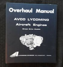 1966-1974 LYCOMING DIRECT DRIVE 6 & 8 CYLINDER AIRCRAFT AIRPLANE ENGINE OVERHAUL