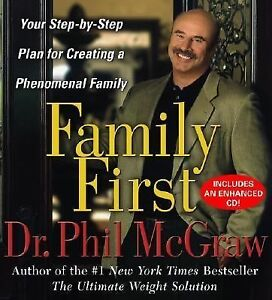 Audiobook:  'Family First'  by Dr. Phil McGraw -Read by the Author 6 CD Set