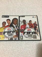 EA Sports FIFA Football 2005 & 2003 PC CD ROM Spiele * Gleichen Tag Versand